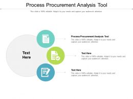 Process Procurement Analysis Tool Ppt Powerpoint Presentation Layouts Backgrounds Cpb