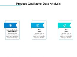 Process Qualitative Data Analysis Ppt Powerpoint Presentation Template Cpb