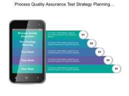 Process Quality Assurance Test Strategy Planning Project Management