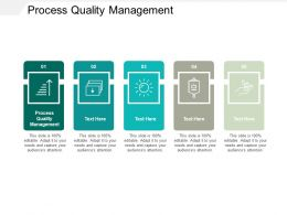 Process Quality Management Ppt Powerpoint Presentation Infographics Infographics Cpb