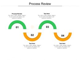Process Review Ppt Powerpoint Presentation Gallery Design Templates Cpb