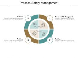 Process Safety Management Ppt Powerpoint Presentation Icon Images Cpb