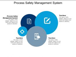 Process Safety Management System Ppt Powerpoint Presentation Model Background Image Cpb