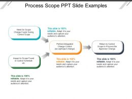 Process Scope Ppt Slide Examples