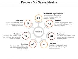 Process Six Sigma Metrics Ppt Powerpoint Presentation Portfolio Graphics Cpb