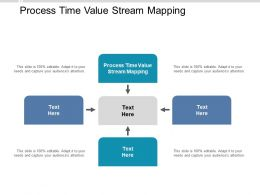 Process Time Value Stream Mapping Ppt Powerpoint Presentation Styles Examples Cpb
