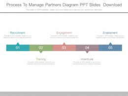 Process To Manage Partners Diagram Ppt Slides Download