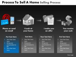 Process To Sell a Home Selling Process Powerpoint Slides And Ppt Templates DB