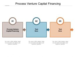 Process Venture Capital Financing Ppt Powerpoint Presentation Icon Structure Cpb