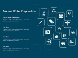 Process Water Preparation Ppt Powerpoint Presentation Infographics Introduction