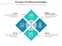 Process Workflow Automation Ppt Powerpoint Presentation Layouts Topics Cpb