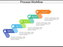 Process Workflow Presentation Background Images