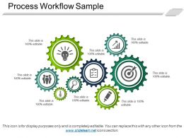 Process Workflow Sample Presentation Powerpoint Example