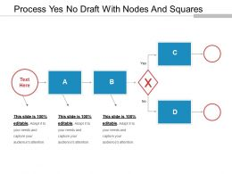Process Yes No Draft With Nodes And Squares