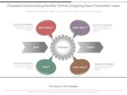 processes_demonstrating_benefits_portfolio_designing_steps_presentation_ideas_Slide01