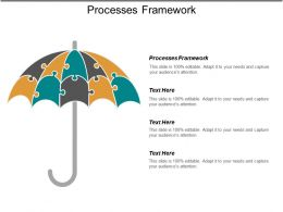 Processes Framework Ppt Powerpoint Presentation Pictures Topics Cpb