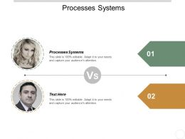Processes Systems Ppt Powerpoint Presentation Icon Show Cpb