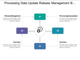 Processing Data Update Release Management B Tech Management