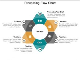 Processing Flow Chart Ppt Powerpoint Presentation Pictures Samples Cpb