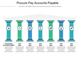 Procure Pay Accounts Payable Ppt Powerpoint Presentation Infographic Template Background Cpb