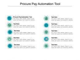 Procure Pay Automation Tool Ppt Powerpoint Presentation Show Download Cpb
