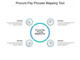 Procure Pay Process Mapping Tool Ppt Powerpoint Presentation Infographic Template Mockup Cpb