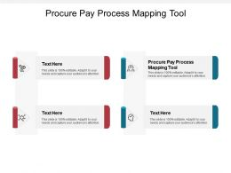 Procure Pay Process Mapping Tool Ppt Powerpoint Presentation Pictures Visuals Cpb