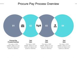 Procure Pay Process Overview Ppt Powerpoint Presentation Summary Cpb