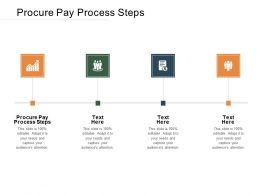 Procure Pay Process Steps Ppt Powerpoint Presentation Summary Graphics Cpb