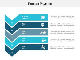 Procure Payment Ppt Powerpoint Presentation Styles Slide Cpb