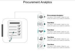 Procurement Analytics Ppt Powerpoint Presentation Icon Introduction Cpb