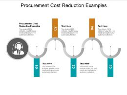Procurement Cost Reduction Examples Ppt Powerpoint Presentation Outline Pictures Cpb