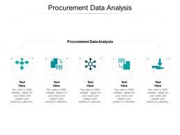 Procurement Data Analysis Ppt Powerpoint Presentation Outline Inspiration Cpb