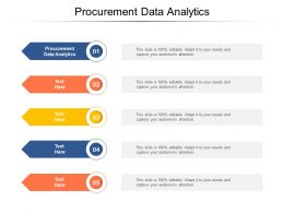 Procurement Data Analytics Ppt Powerpoint Presentation Model Portfolio Cpb