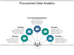Procurement Data Analytics Ppt Powerpoint Presentation Pictures Designs Download Cpb