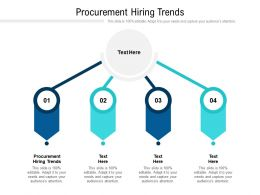 Procurement Hiring Trends Ppt Powerpoint Presentation File Microsoft Cpb