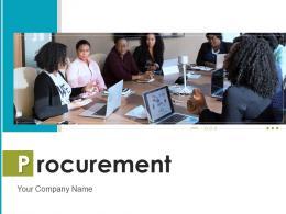 Procurement Information Business Relationships Performance Departments