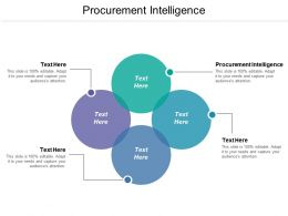 Procurement Intelligence Ppt Powerpoint Presentation Pictures Clipart Cpb