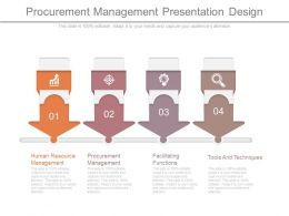Procurement Management Presentation Design