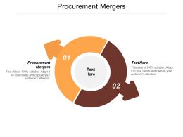 Procurement Mergers Ppt Powerpoint Presentation Professional Infographic Template Cpb