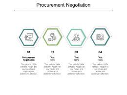 Procurement Negotiation Ppt Powerpoint Presentation Styles Introduction Cpb