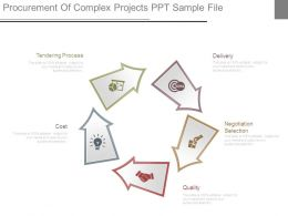 Procurement Of Complex Projects Ppt Sample File
