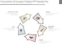 Procurement Of Complex Projects Ppt Sample File