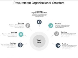 Procurement Organizational Structure Ppt Powerpoint Presentation Summary Graphic Tips Cpb