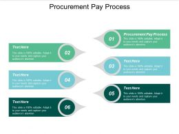 Procurement Pay Process Ppt Powerpoint Presentation Icon Background Designs Cpb