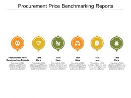 Procurement Price Benchmarking Reports Ppt Powerpoint Presentation Infographic Template Infographic Template Cpb