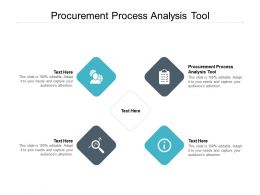Procurement Process Analysis Tool Ppt Powerpoint Presentation Pictures Graphics Tutorials Cpb