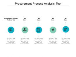 Procurement Process Analysis Tool Ppt Powerpoint Presentation Portfolio Cpb