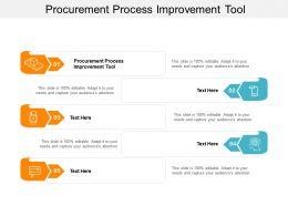 Procurement Process Improvement Tool Ppt Powerpoint Presentation Icon Graphics Design Cpb