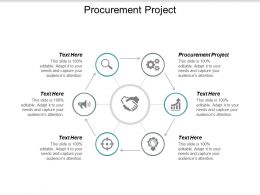 Procurement Project Ppt Powerpoint Presentation Icon Summary Cpb
